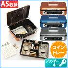 アイリスオーヤマアルミセーフティボックスASB-080オレンジ・ブルー・グレー