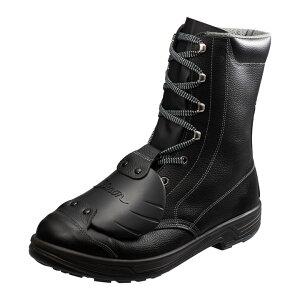 足甲プロテクター搭載 JIS規格安全長編上靴 黒 SS33樹脂甲プロD-6送料無料 安全靴 半長靴 作業靴 編み上げ 長靴 長編上靴 作業用品 DIY 作業着 シモン 23.5cm・24.0cm・24.5cm・25.0cm・25.5cm・26.0cm・26.5