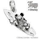 【送料無料】LONOxディズニーコラボ♪ミッキーサーフボードペンダントトップLN-09ハワイアンジュエリー