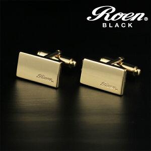 【クーポン配布中】Roen BLACK ロエンブラック アクセサリー カフス 2pcs/1セット ゴールドカラー プレゼント ご褒美 ROT-102 人気祝 チャーム カップル ギフト ハロウィン
