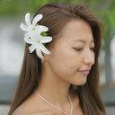 ダブル 2輪ティアレ ヘアクリップ 髪飾り TI-001 zak554 フラダンス ハワイアン タヒチアン ハワイアン雑貨 フラダン…