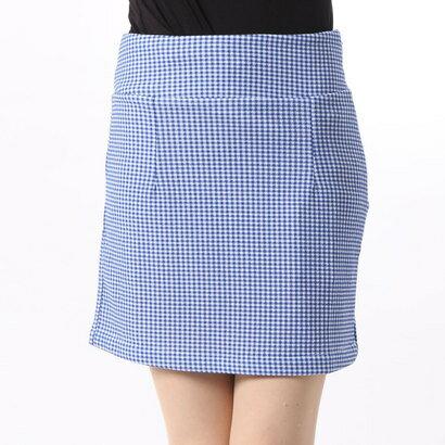【アウトレット】リップサービス LIP SERVICE ギンガムチェックミニスカート (ブルー)