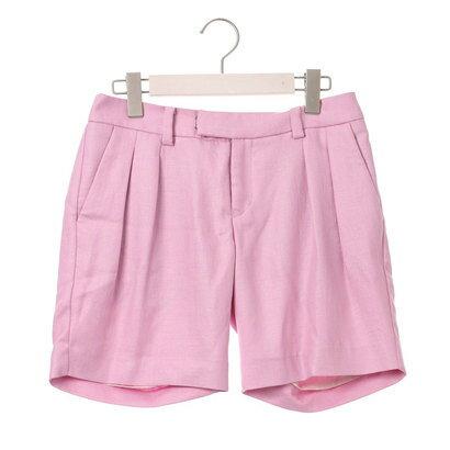 【アウトレット】アンチュール エミュ Unchulle' emu ジルキー ハーフ丈ショートパンツ (ピンク)
