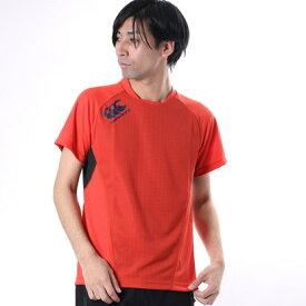 【アウトレット】カンタベリー CANTERBURY メンズ ラグビー 半袖シャツ PRACTICE TEE RG37007