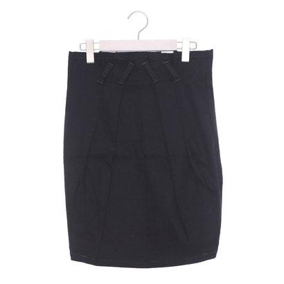 【アウトレット】アンチュール エミュ Unchulle' emu タックコクーンスカート (ブラック)