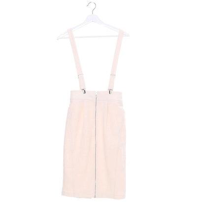 【アウトレット】アンチュール エミュ Unchulle' emu サスペンダー付きタイトスカート (オフホワイト)