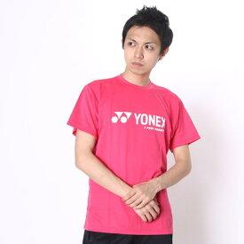 ヨネックス YONEX ユニセックスTシャツ ベリークールTシャツ 16201 (ブライトピンク)