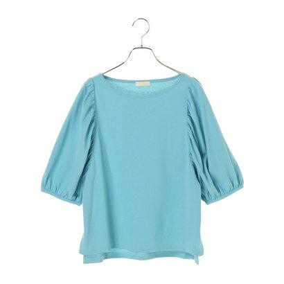 【アウトレット】アースミュージックアンドエコロジー earth music&ecology MULTI FUNCTIONドルマンTシャツ (Turquoise Blue)