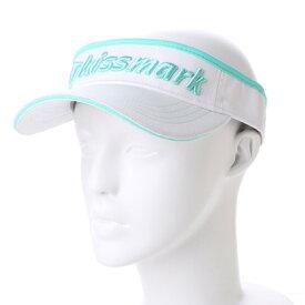 キスマーク kissmark レディース ゴルフ サンバイザー KM-1C126SV