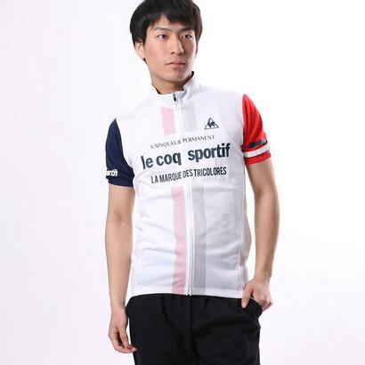 ルコックスポルティフ le coq sportif メンズ バイシクル サイクルジャージ/ジャケット UVソフトメッシュジャージ QC-741671