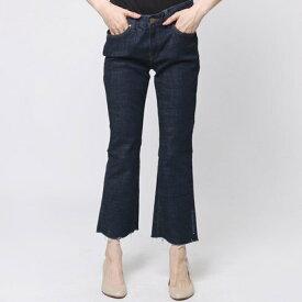 【アウトレット】ゲス GUESS LOW-RISE SLIM BOOT CUT OFF DENIM PANT (BLUE BLACK)