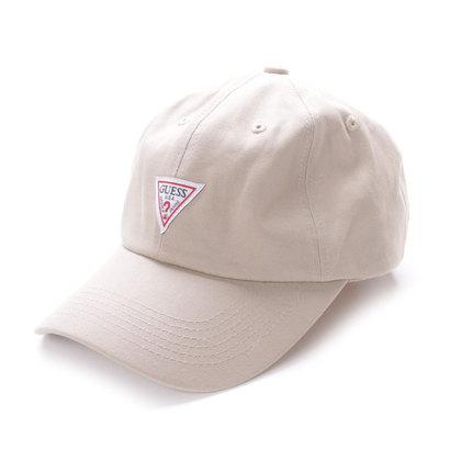 ゲス GUESS 6 PANEL CAP (BEIGE)