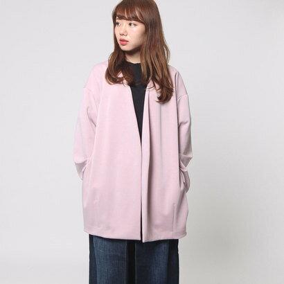 【アウトレット】ムルーア MURUA オーバーコクーンJK (ピンク)