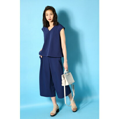 【AZUL BY MOUSSY】ノースリーブセットアップ D/BLU