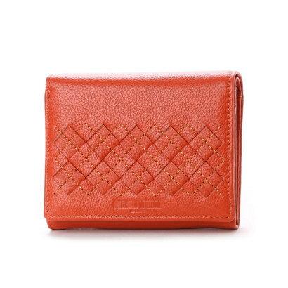 ミチコ ロンドン MICHIKO LONDON 2つ折財布 (オレンジ)