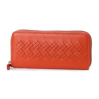 ミチコ ロンドン MICHIKO LONDON ラウンドファスナー長財布 (オレンジ)