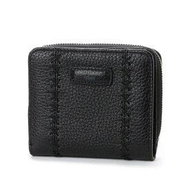 f7f227767119 カンサイ ヤマモト ファム KANSAI YAMAMOTO FEMME ラウンドファスナー2つ折財布 (ブラック)