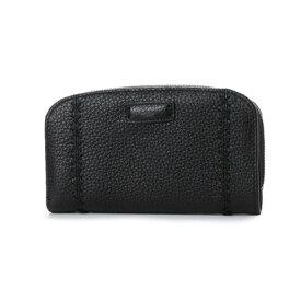 c59a0246d073 カンサイ ヤマモト ファム KANSAI YAMAMOTO FEMME ラウンドファスナー2つ折財布(大) (ブラック