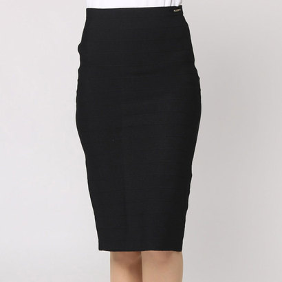 【アウトレット】ゲス GUESS ORETTA SKIRT (JET BLACK W/ FROST GREY)