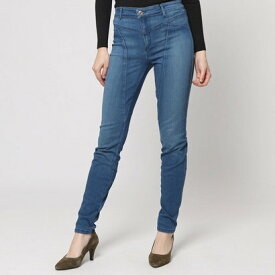 【アウトレット】ゲス GUESS HIGH-WAIST ADDIE MAX STRETCH DENIM JEGGINGS (VINTAGE ACID WASH)