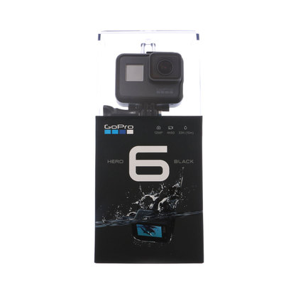 ゴープロ GoPro HERO6 Black 小型カメラ