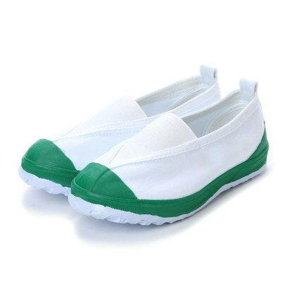 ケーズプラス K's PLUS 上履き 子供用・大人用 学校靴・軽作業 (GREEN)