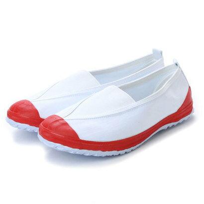 ケーズプラス K's PLUS 上履き 子供用・大人用 学校靴・軽作業 (RED)