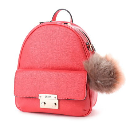 ゲス GUESS VARSITY POP BOWERY SMALL BACKPACK (POPPY)