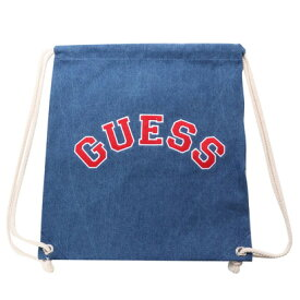 ゲス GUESS Originals ARCH LOGO DENIM KNAPSACK (MEDIUM BLUE)【JAPAN EXCLUSIVE ITEM】(ゲス オリジナルス アーチロゴデニムナッ