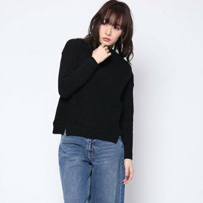 リネーム Rename ウール100%ボトルセーター (ブラック)