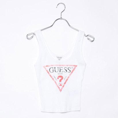 ゲス GUESS Originals CLASSIC LOGO TANK TOP (WHITE)