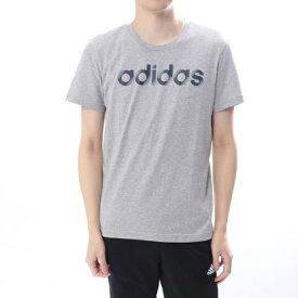 【アウトレット】アディダス adidas メンズ 半袖Tシャツ MSLICEDリニアロゴTシャツ CV4514