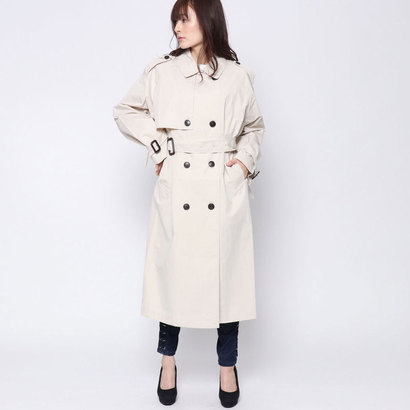 ゲス GUESS TRENCH COAT (LIGHT BEIGE)