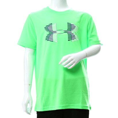 アンダーアーマー UNDER ARMOUR ジュニア 半袖機能Tシャツ UA Tech Big Logo Solid Tee 1306073