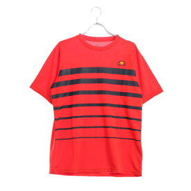 エレッセ ellesse テニス 半袖 Tシャツ SSプラクティスボーダークルー EM08105
