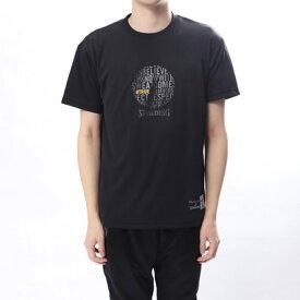 【アウトレット】スポルディング SPALDING バスケットボール 半袖Tシャツ Tシャツ-BELIEVERS CLEAR PRINT SMT180020