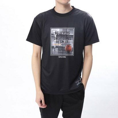 スポルディング SPALDING バスケットボール 半袖Tシャツ Tシャツ-RESPECT SMT180030