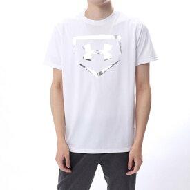 【アウトレット】アンダーアーマー UNDER ARMOUR メンズ 野球 半袖 Tシャツ UA TECH BASEBALL LOGO 1313588