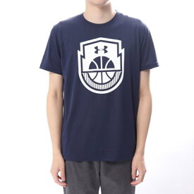【アウトレット】アンダーアーマー UNDER ARMOUR バスケットボール 半袖Tシャツ UA Tech Basketball Icon 1313538