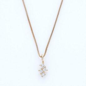ソーイ sowi 【K10・ダイヤモンド】幸せを運ぶもの 水ネックレス (ゴールド)