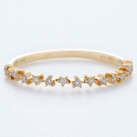 ソーイ sowi 【K18・ダイヤモンド】スターダストコレクション リング (ゴールド)