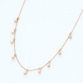 ソーイ sowi 【K18・ダイヤモンド】ハートダストコレクション ネックレス (ゴールド)