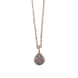 ソーイ sowi 【K18・誕生石】12の宝石のしずくたち 1月 (ガーネット)
