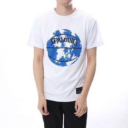 スポルディング SPALDING バスケットボール 半袖Tシャツ Tシャツ-MARBLE BALL SMT180160
