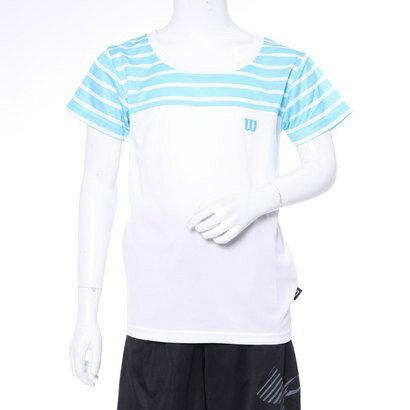 ウィルソン Wilson ジュニア 半袖機能Tシャツ ウィルソン Wilson ジュニア 半袖吸汗速乾Tシャツ WJ6077 WJ6077