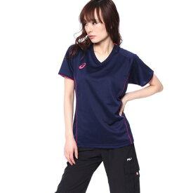 アシックス ASICS バレーボール 半袖Tシャツ W'Sプラクティスショートスリーブトップ XW6748