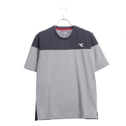 ディアドラ Diadora メンズ テニス 半袖 Tシャツ DRYMIXトップ DTP8533