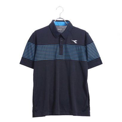 ディアドラ Diadora メンズ テニス 半袖 ポロシャツ ゲームシャツ DTG8338