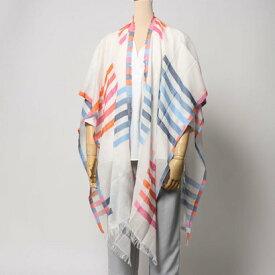 エコー ニューヨーク echo NEW YORK EO0017Bay Stripe Yarn Dye Ruana (Multi)