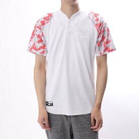 【アウトレット】アンダーアーマー UNDER ARMOUR メンズ 野球 半袖 Tシャツ UA STAND COLLAR BB SHIRT 1313587